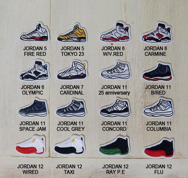 size 40 9c561 07e76 jordan patches 5 ~ 12 seires