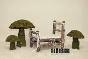 Image of Mossy Mushroom Set of 3 - NEW - Photographer's Prop Store - $50 OFF!