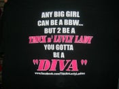 Image of THE OFFICIAL ''DIVA'' TEE