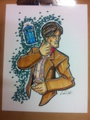 Image of Dr. Who Original Drawing