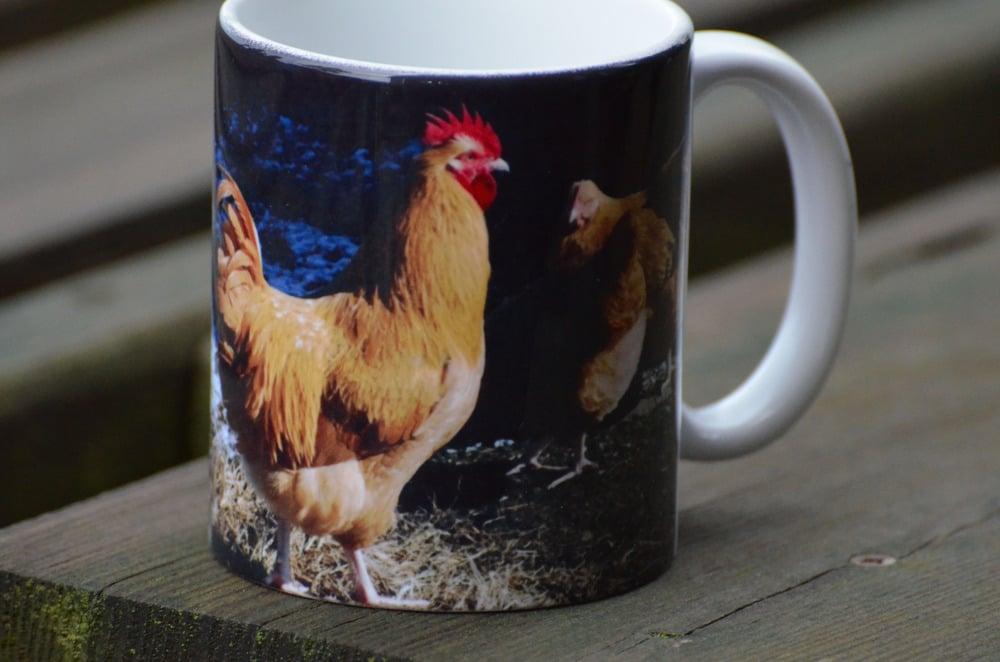 Image of Rooster Mug