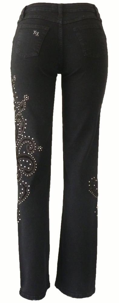 Black 'Show Stopper' Jeans 5W3112BLKP
