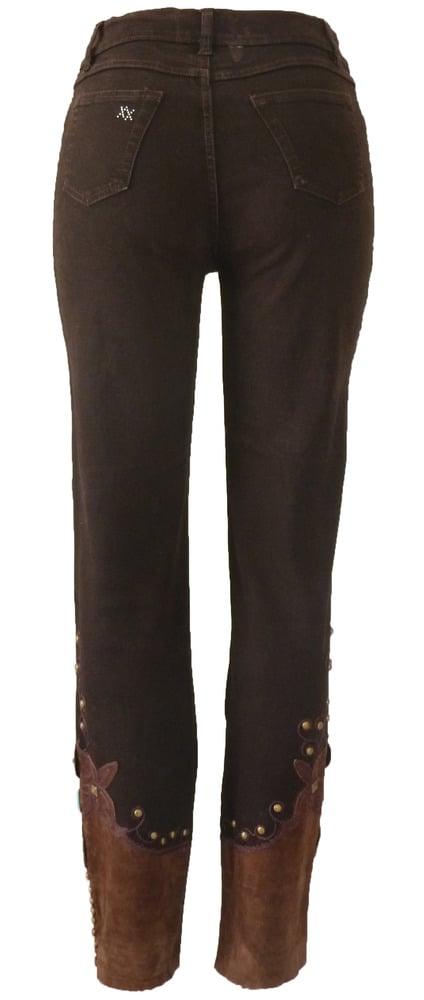 Chocolate Murano Jeans 6W5059P