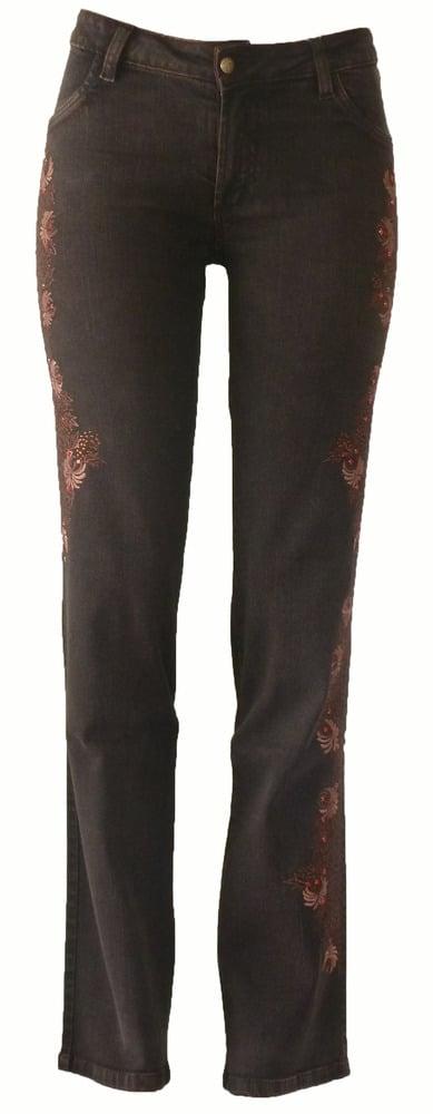 Espresso 'Rose Dandelion' Jeans 11W2504P