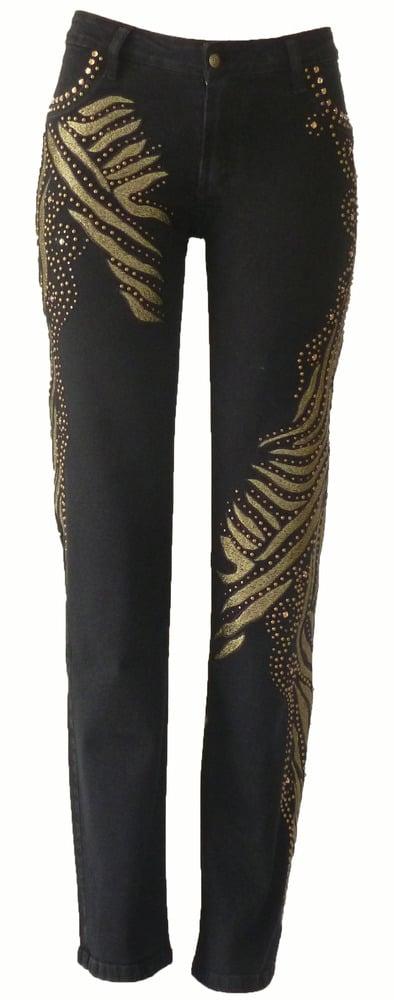 Image of Black Tiger Jeans 10W040BLKP