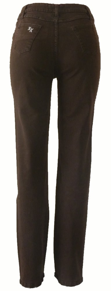 Chocolate Signature Jeans 4W5017P
