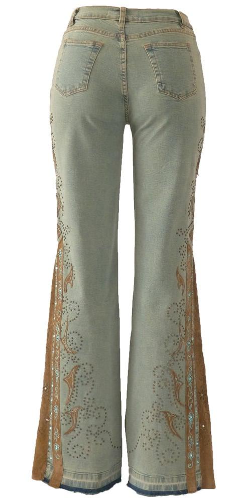 Blue Slate Bell Jeans 5W3300P