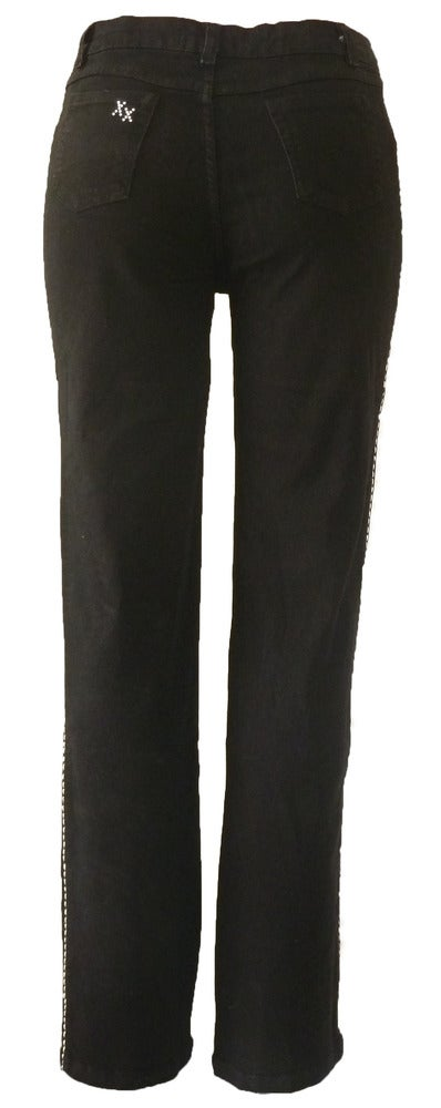 Black Richelieu Timeless Jeans 7S1046P