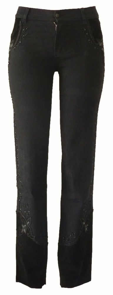 Black 'Holiday' Jeans 7W4046P