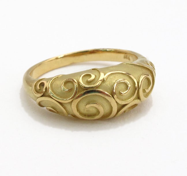 Image of Antique Swirl Ring 18k