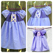 Image of Rapunzel Tangled Inspired Princess Dress