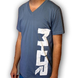 Image of MHJR V-Neck : Blue
