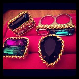 Image of Cheryl's Dope 2 Layer Chain Gems