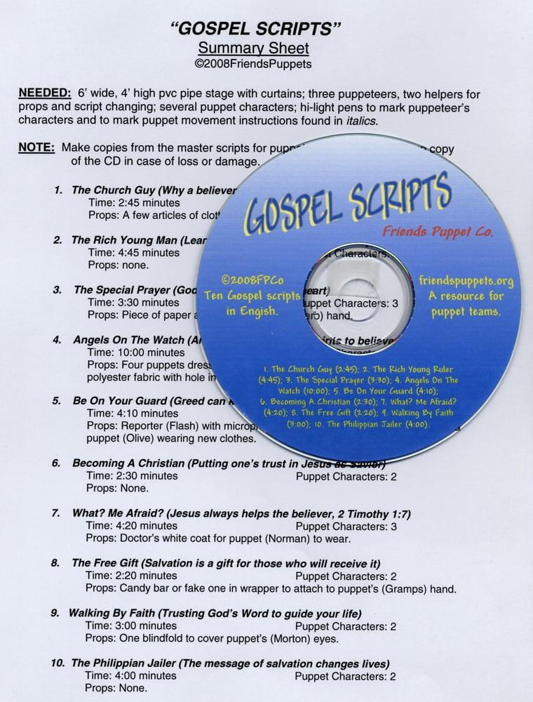 Image of Gospel Scripts