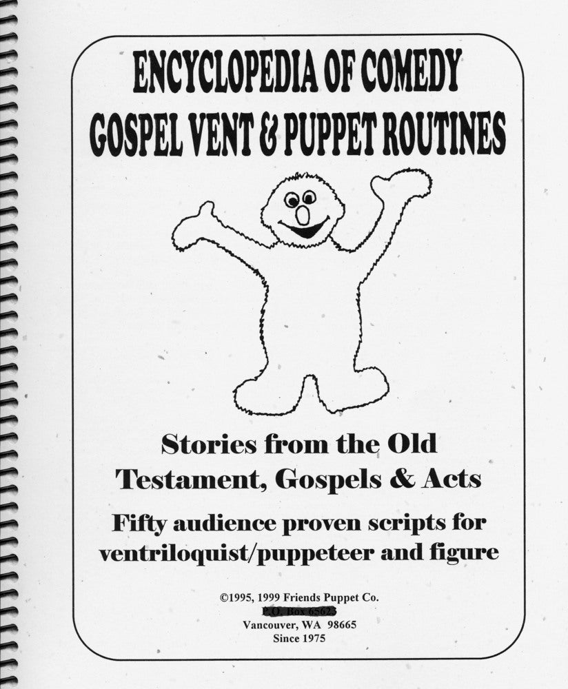 Image of Encyclopedia Of Comedy Gospel Vent & Puppet Routines Bk 1