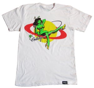 Image of LOLA TEE IN WHITE