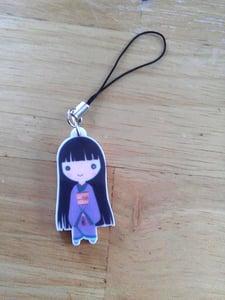 Image of Zashiki Warashi/Hakama Boy Phone Charm