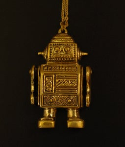 Image of Robot Necklace