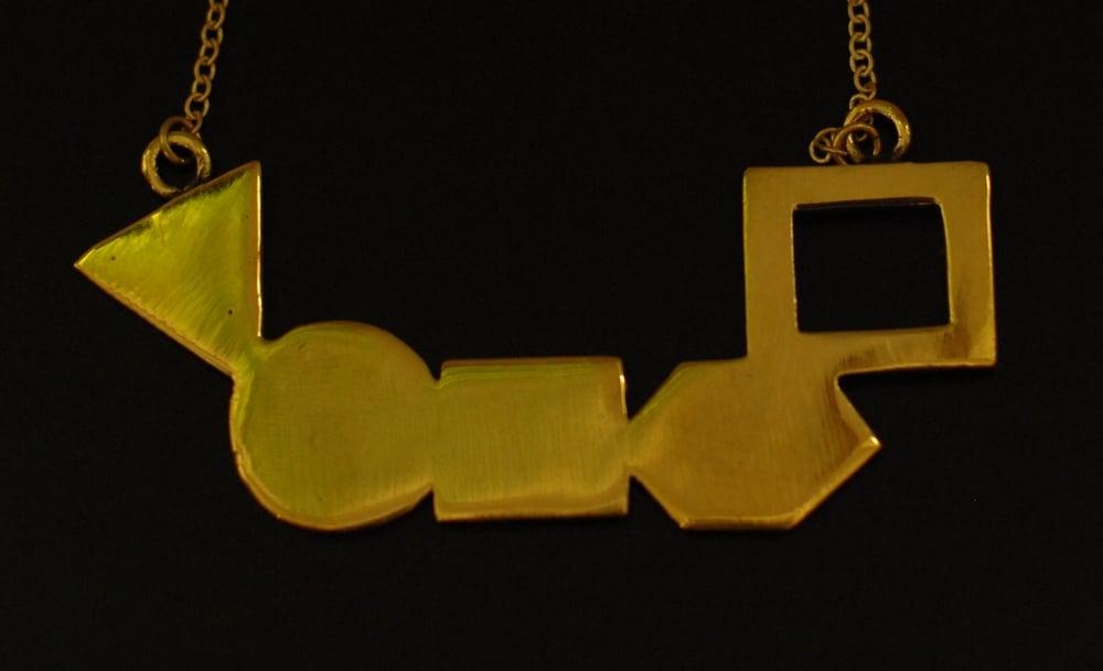 Image of Geometrics Necklace