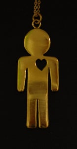 Image of Heartman Necklace