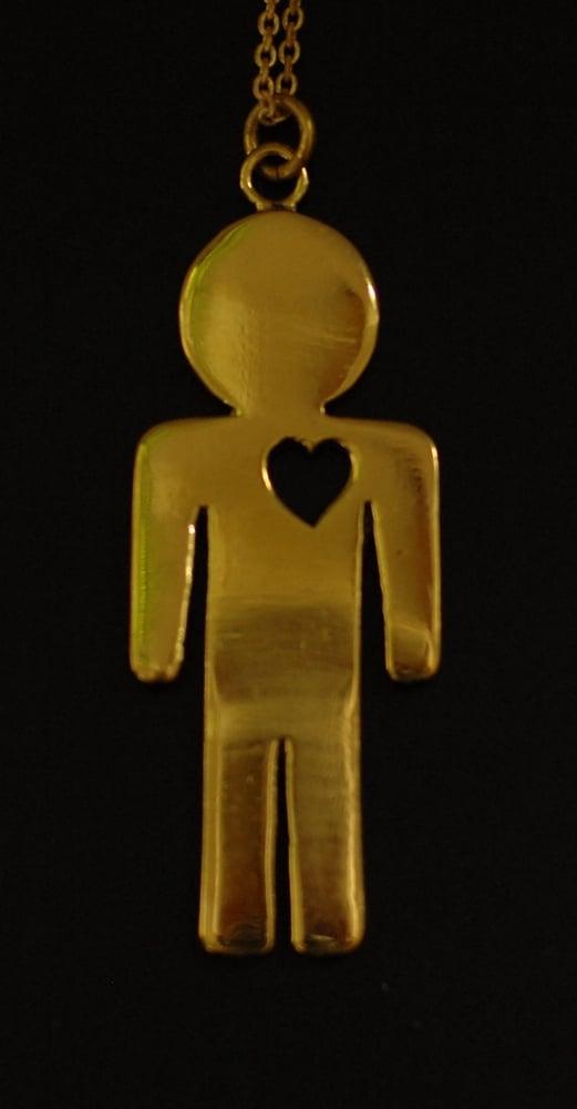 Image of Heartman Necklace