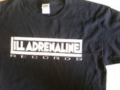 Image of Ill Adrenaline Records logo t-shirt