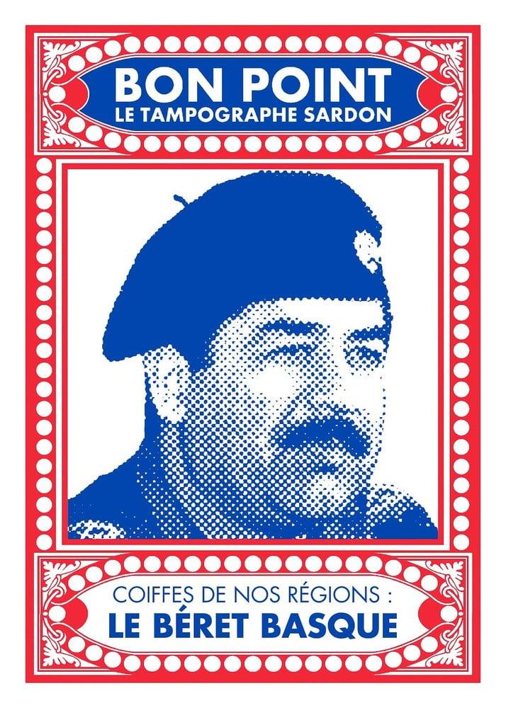 """Image of Sérigraphie """"le béret basque"""""""