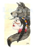 "Image of ""A Wolf's Tail"" Giclee Print"