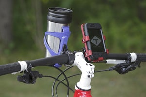 Image of BOTTLE CAGE HANDLEBAR MOUNT SYSTEM