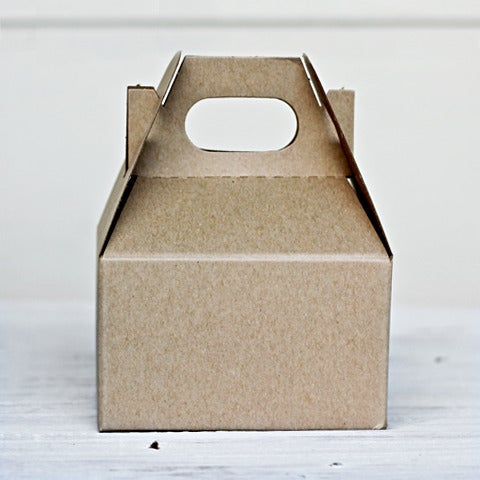 Mini Gable Box Solid Little Ink Packaging Supplies