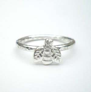 Image of Silver Bee Ring