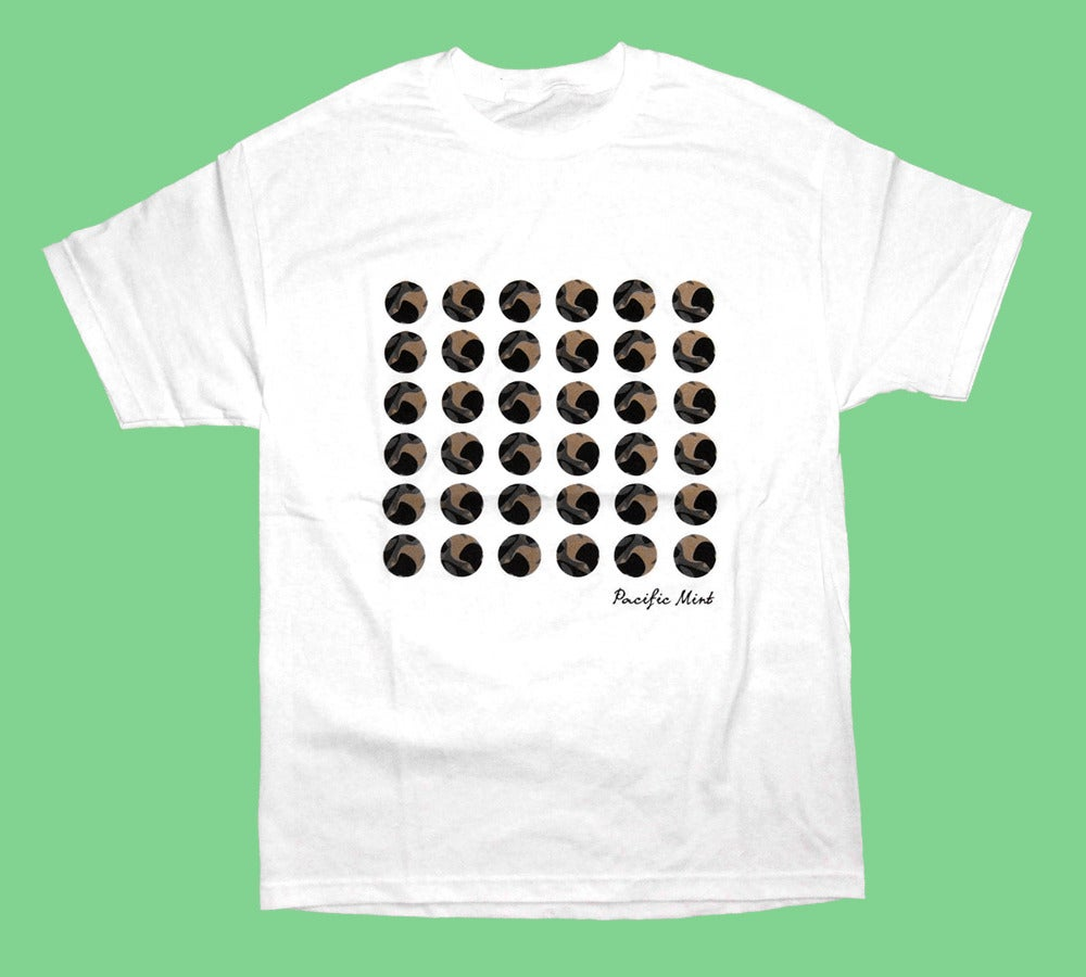 "Image of ""Camo Dots"" Tee in White"