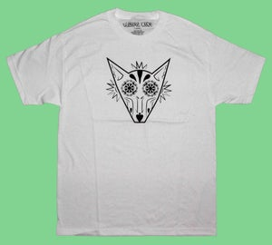 "Image of ""Sugar Fox"" Tee in White"