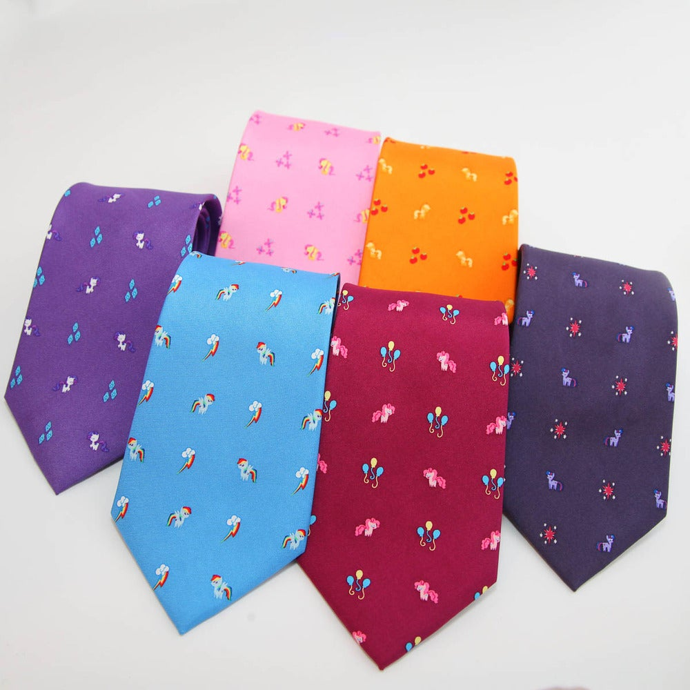 The Elements of Harmony: Mane Six Tie Set