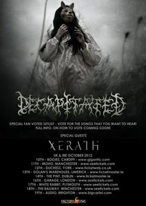 Image of DECAPITATED @ AUDIO, BRIGHTON TICKETS