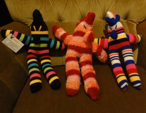 Image of Large Sock Aliens