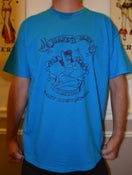 Image of SHOP LOGO T - SAPHIRE W/ NAVY