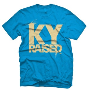 Image of KY Raised in Teal & Tan