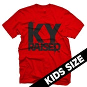 Image of KY Raised Kid's in Red & Black