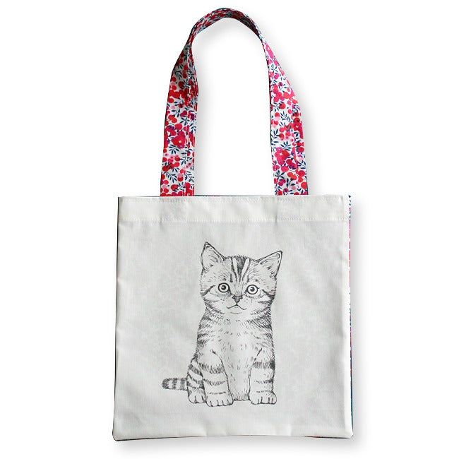 Image of Sac en coton enfant Chaton