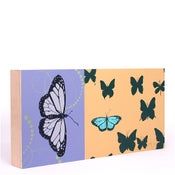 Image of Lilac  with Butterflies 18 x 9