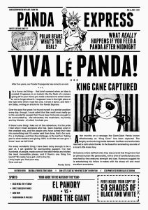 Image of Fresh off the press - Panda Express