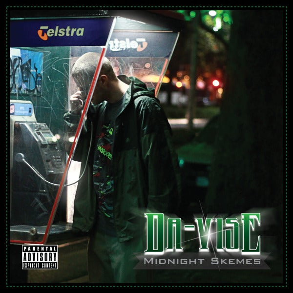 "Image of DA-VISE ""Midnight Skemes"" CD"