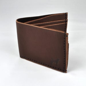 Image of BILLFOLD WALLET (BROWN)