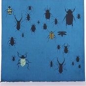 Image of Indigo with Beetles 21 x 21