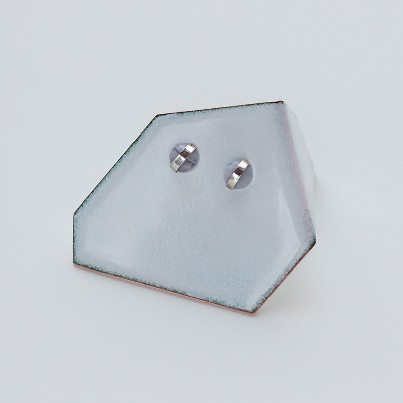 Image of Better Late Than Never Blue Lace Agate Studs