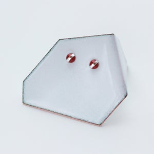Image of Better Late Than Never Red Jasper Mini Cabochon Studs