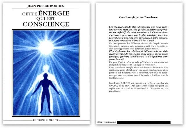 """Image of Livre """"Cette Énergie Qui Est Conscience"""""""