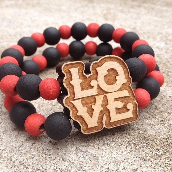 Image of Double-band LOVE Bracelet
