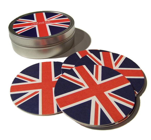 Image of Union Jack Coasters